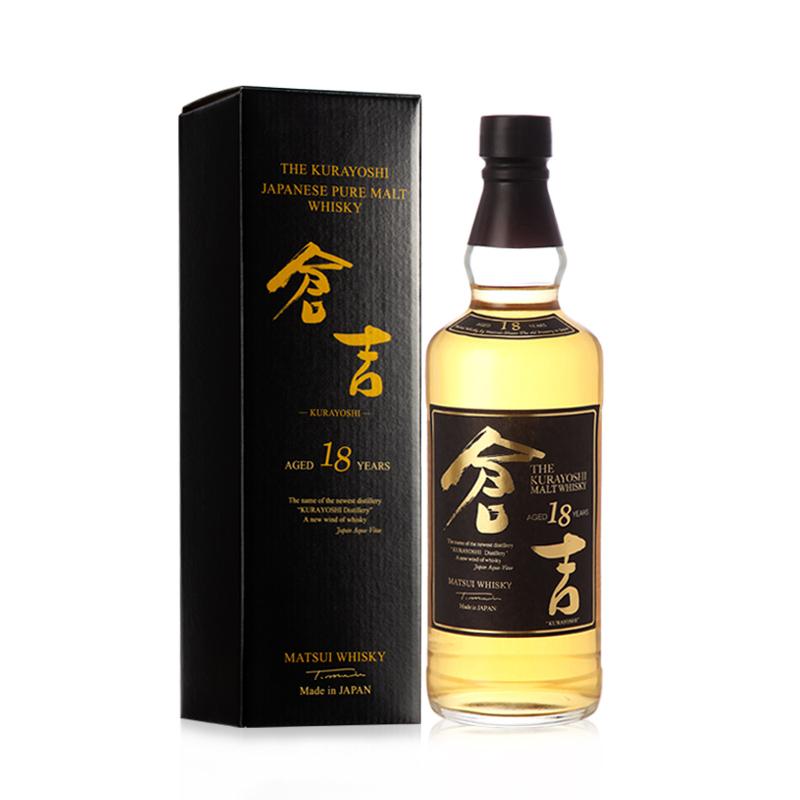 50°仓吉18年调和日本纯麦威士忌700ml