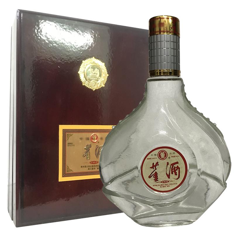老酒 50° 木盒董酒500ml(1999年-2000年随机发货)