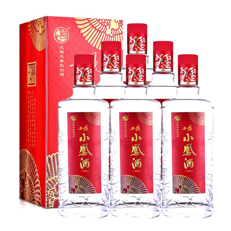 45°西凤小凤酒(精制)500ml(6瓶装)