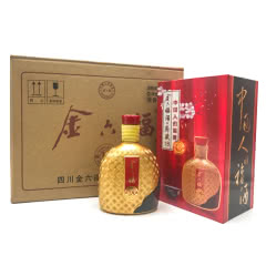 52°金六福府藏18 500ml*6瓶 浓香型白酒 礼盒套装 纯粮食酒
