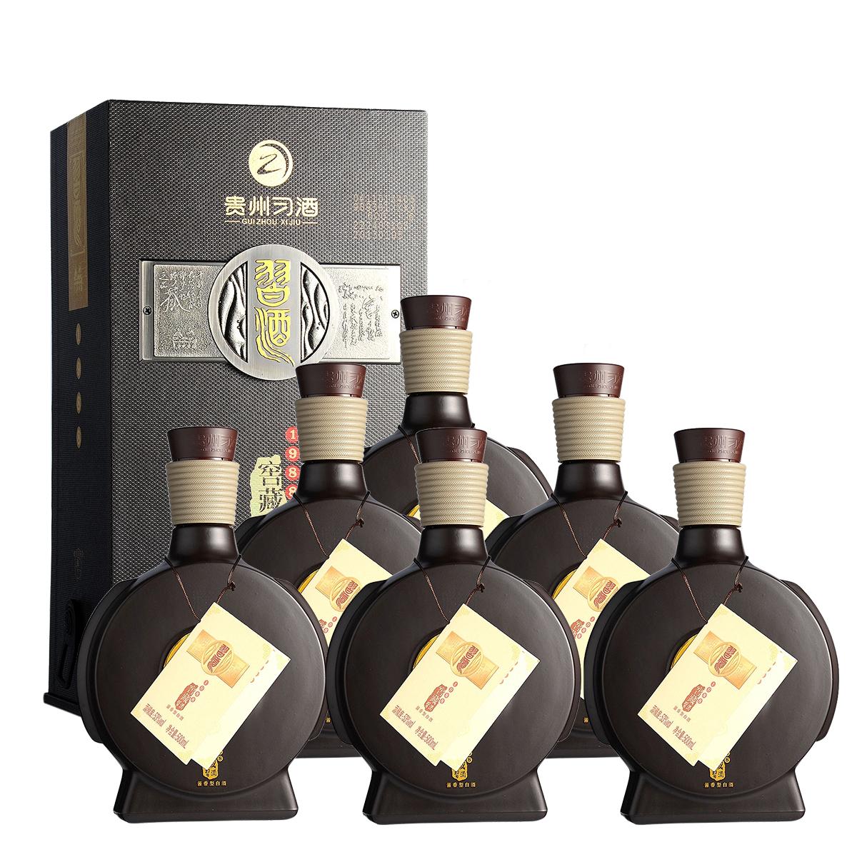 53°习酒窖藏1988 500ml(6瓶装)