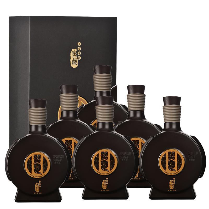 53°习酒窖藏1988雅致版500ml(6瓶装)