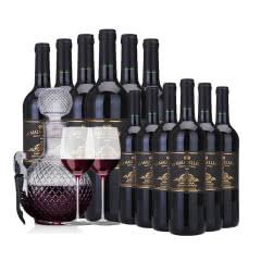 【买一得二】法国原瓶进口AOC红酒玛歌雷特AOP干红葡萄酒750ml*6超值装