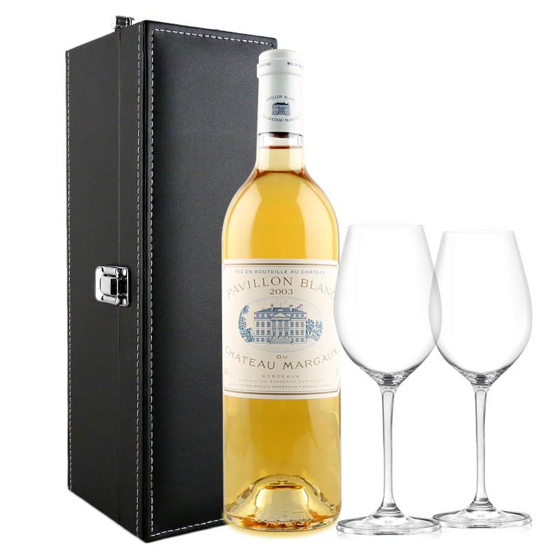 玛歌白亭干白葡萄酒 法国波尔多产区原瓶进口 一级庄 2003年 750ml