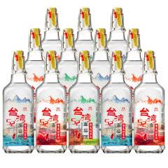 52°宝岛阿里山台湾高粱酒(高山酒)浓香风味白酒500ml*12(整箱)