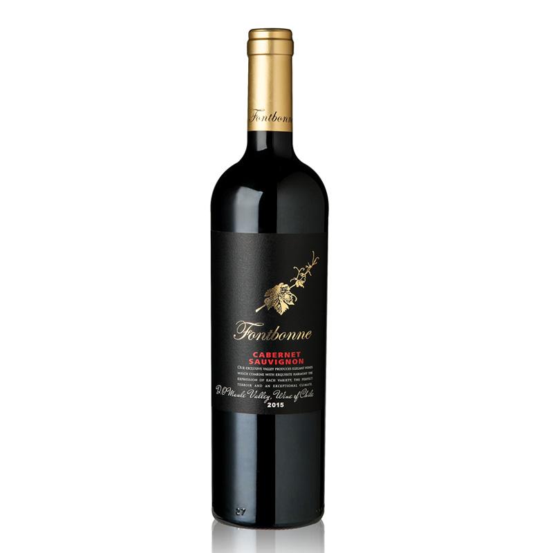枫博金叶赤霞珠红葡萄酒750ml
