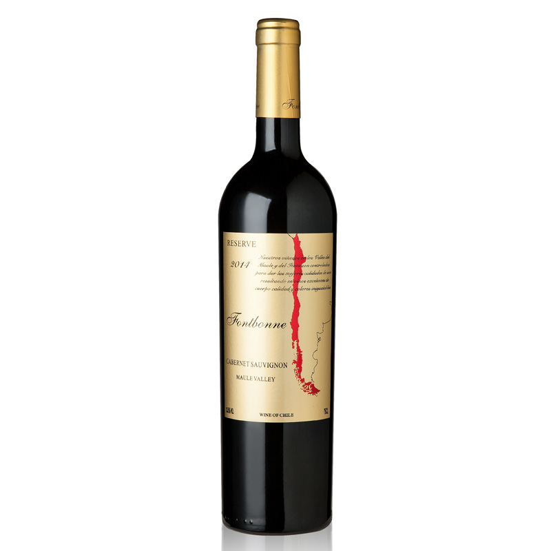枫博柏威珍藏赤霞珠红葡萄酒750ml