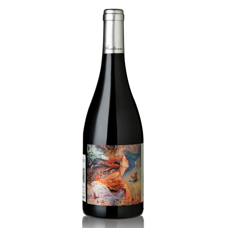 枫博梦美人红葡萄酒750ml
