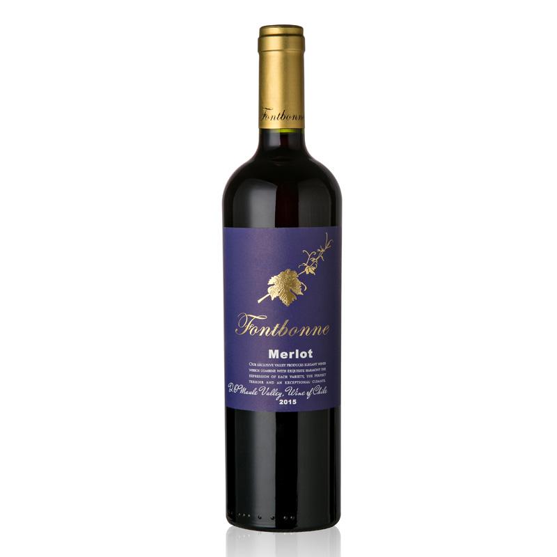 枫博莫郎泰梅洛干红葡萄酒750ml