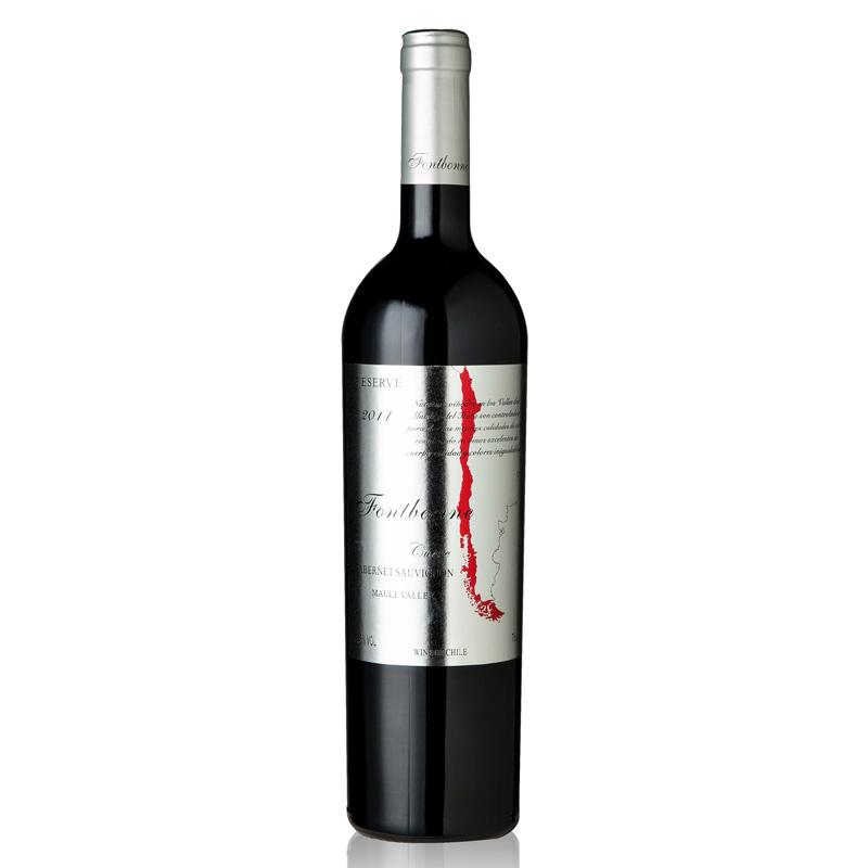 枫博银标珍藏红葡萄酒750ml