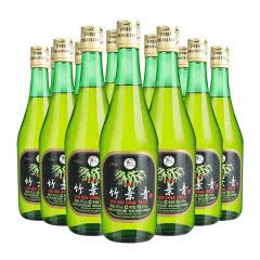 45°杏花村汾酒玻璃瓶竹叶青酒475ml(12瓶装)