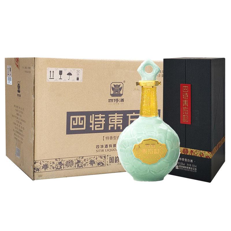 52°四特酒东方韵国韵500ml (6瓶装)整箱