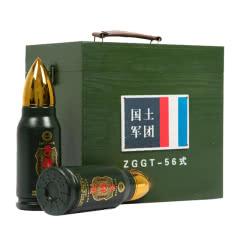 军旅情怀 怀旧收藏级40.8度子弹酒 纯粮食酒 老兵纪念酒整箱 500ml*6枚