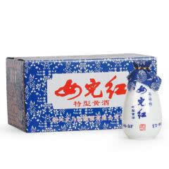 绍兴黄酒 女儿红特型黄酒 350ML*12瓶 整箱半甜型手提送礼
