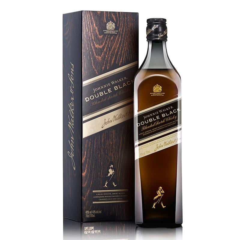 40°英国尊尼获加醇黑调配苏格兰威士忌 700ml