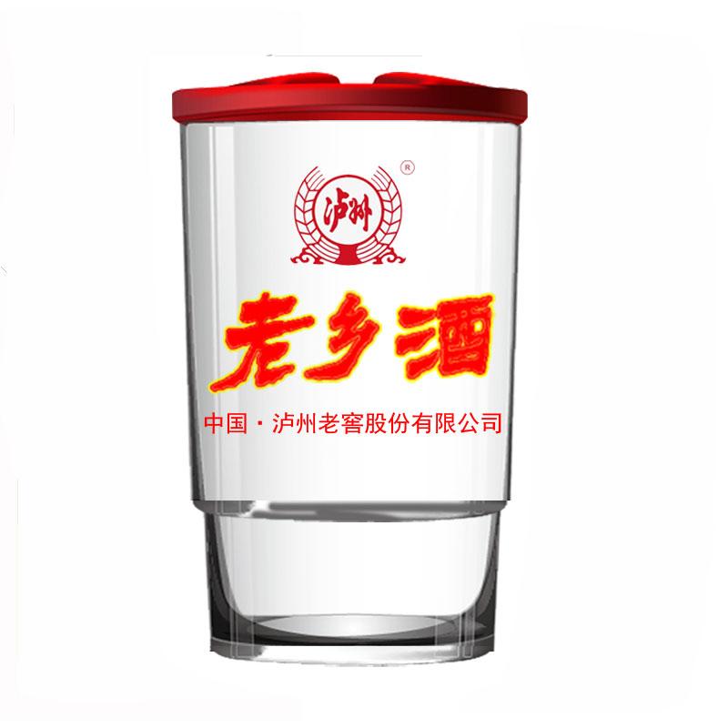 52度 泸州老窖原厂出品 老乡酒 2012年浓香型白酒 整箱156ml*24