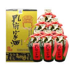52°孔府家酒绿蒙砂老大陶升级版500ml(6瓶装)