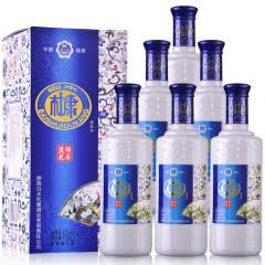42°白水杜康粮食白酒水整箱浓香型白酒礼盒475ml(6瓶装)