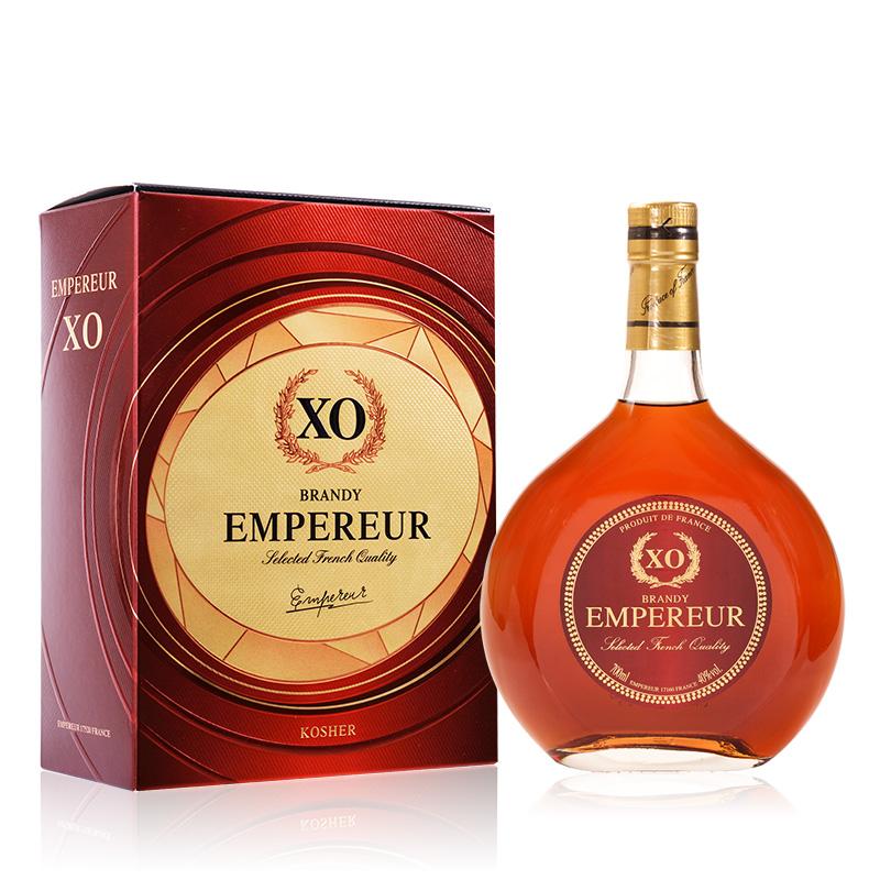 40°法国洋酒(原瓶进口)邑龙豪爵XO白兰地700ml
