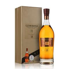 43°格兰杰18年单一麦芽威士忌700ml