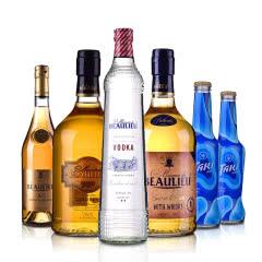 法圣古堡公爵洋酒套装(XO,威士忌,金朗姆,伏特加 )