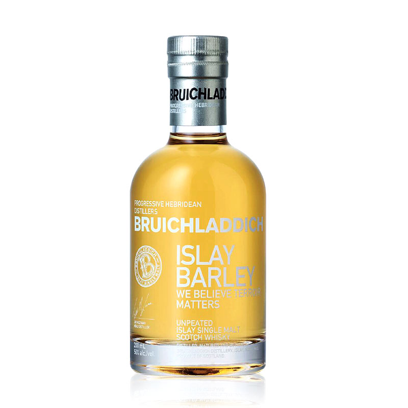 50°英国布赫拉迪艾雷岛麦芽苏格兰单一麦芽威士忌200ml