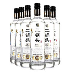 52°牛栏山二锅头特制10年清香型白酒700ml*6瓶装整箱