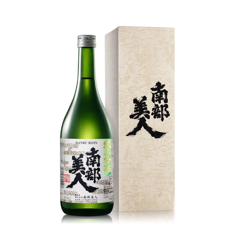15.5°南部美人纯米吟酿清酒720ml