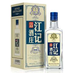 40°江记酒庄手工精酿高粱酒蓝五星500ml