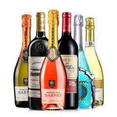 醉梦红酒甜型气泡酒干红葡萄酒起泡酒甜酒红酒六支组合