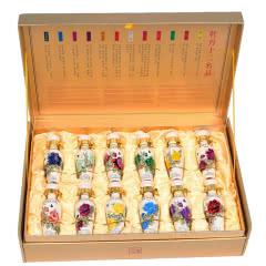 70°杜康牡丹文化礼品酒MD12浓香型白酒60ml*12瓶礼盒装