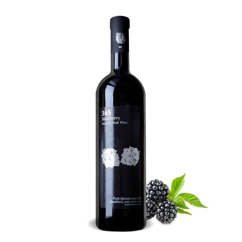 亚美尼亚半甜黑莓酒750ml