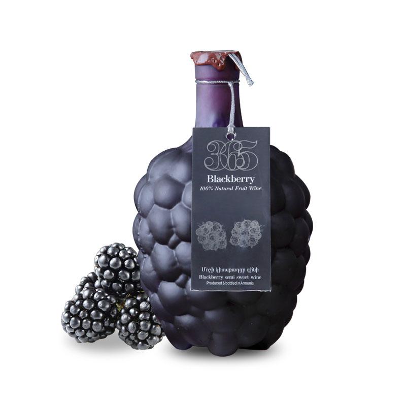 亚美尼亚半甜黑莓酒750ml礼盒装