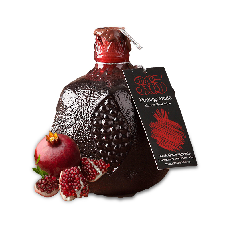亚美尼亚半甜石榴酒750ml礼盒装