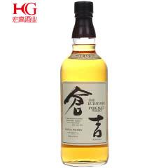 43°日本仓吉威士忌洋酒700ml*1瓶