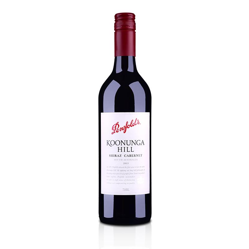澳大利亚奔富蔻兰山西拉赤霞珠红葡萄酒750ml