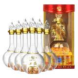 52度西凤凤泉秘酿酒 五星(透明瓶)白酒整箱特价500ml(6瓶)