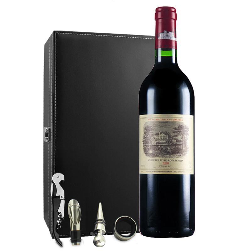 (列级庄·名庄·正牌)法国拉菲酒庄1990干红葡萄酒750ml(又译大拉菲、拉菲城堡)