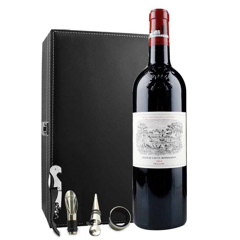 (列级庄·名庄·正牌)法国拉菲酒庄2014干红葡萄酒750ml(又译大拉菲、拉菲城堡)