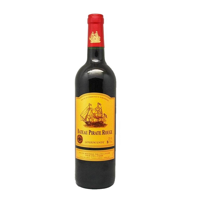 法国进口红酒 朗-派瑞船干红葡萄酒750ml
