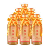 53°珍酒藏品醬香經典 500ml*6 貴州傳統醬香型白酒 坤沙酒 糧食酒
