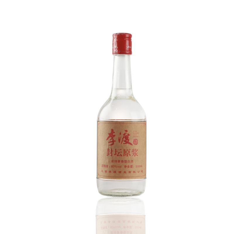 60°李渡封坛原浆酒 500ml 浓特兼香型 瓶装酒 白酒 送礼