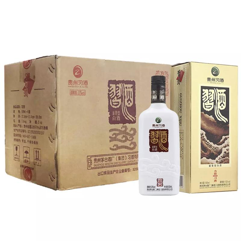 老酒  53°方品习酒500ml(6瓶装)2015年