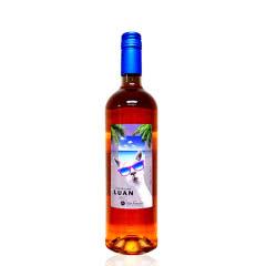 智利红酒(原瓶进口)甜型酒龙兰136桃红葡萄酒750ml*1瓶