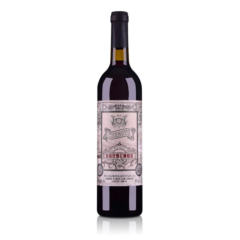 【包邮】张裕玫瑰甜红葡萄酒750ml