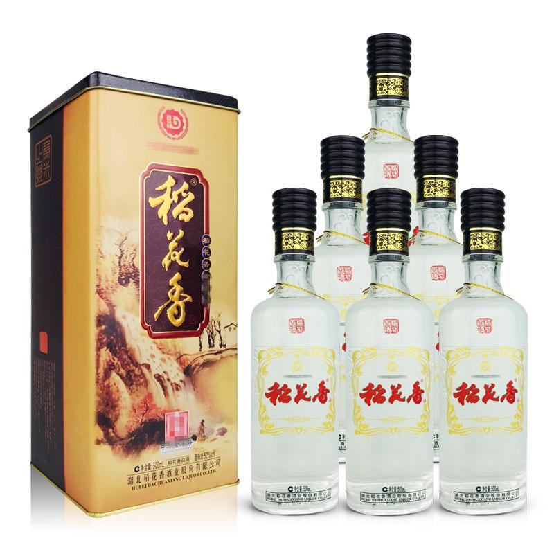 老酒 52°稻花香酒500ml(6瓶装)2012年