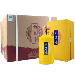 53°钓鱼台礼宾酒(黄色) 500ml*6(2018年)