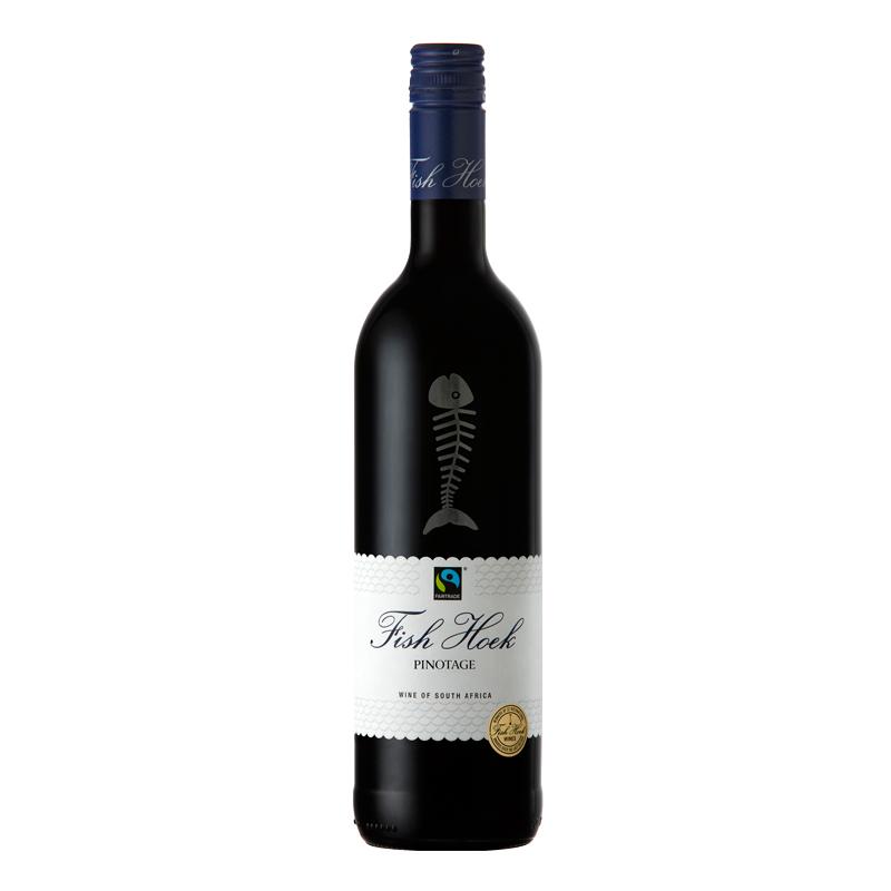 渔人酒庄皮诺塔吉红葡萄酒 2018 750ml