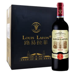 路易拉菲皇室伯爵干红葡萄酒法国进口红酒六支装750ml*6
