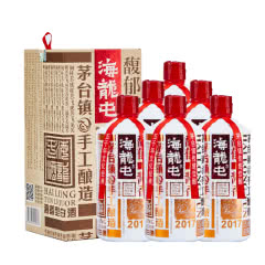【酒厂直营】53° 贵州 海龙屯(典藏) 酱香型白酒 500ml*6
